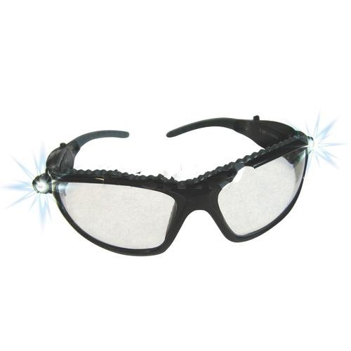 Led Inspectors Safety Glasses-2Pack