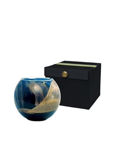 Northern Lights Candles Esque 7-Oz. Globe Candle, Cobalt