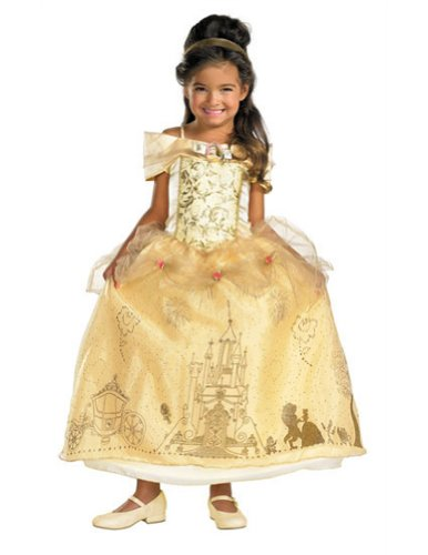 Baby-Toddler-Costume Belle Prestige Toddler Costume 3T-4T Halloween Costume