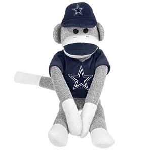 NFL Dallas Cowboys Uniform Sock Monkey
