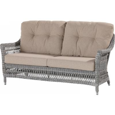4 Seasons Outdoor Paddock 2.5-Sitzer Sofa Polyrattan rock