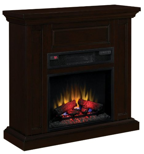 Oxford Infrared Wall Mantel in Espresso 23IW1254-E451 MANTEL ONLY