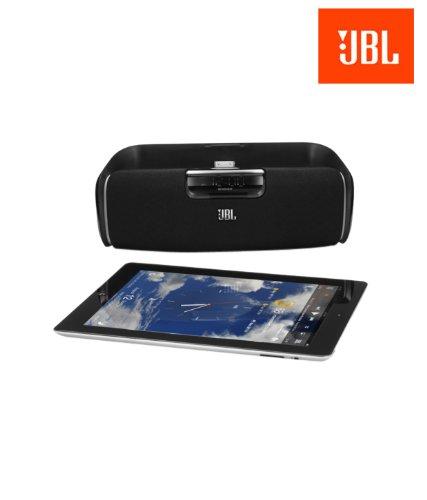 Jbl Onbeat Awake Bluetooth Wireless Loudspeaker With 30-Pin Dock Connector (Black)