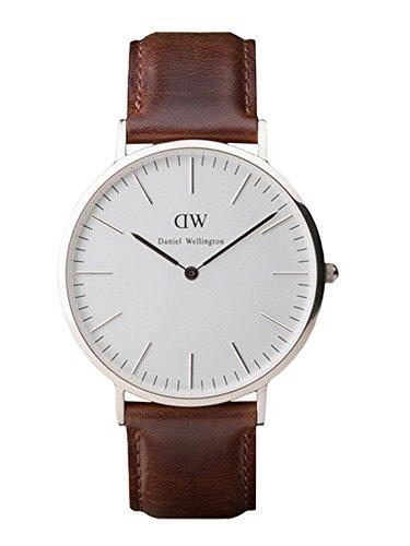 Daniel Wellington Men'S 40 Mm Classic Bristol Watch Silver O/S