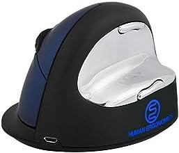 Comanro Human Ergonomic Ev Mouse 24g Laser Wireless 6 button Vertical Ergonomic Mouse - DPI 50010001