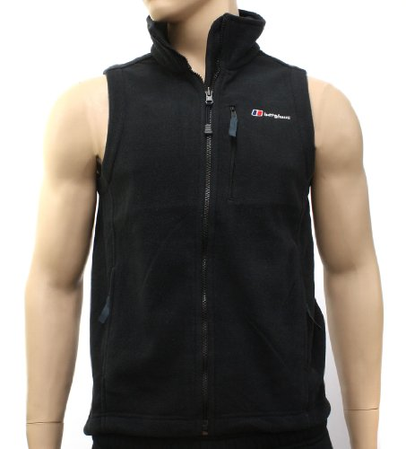 Berghaus Mens Spectrum InterActive Fleece Black Gilet 32930