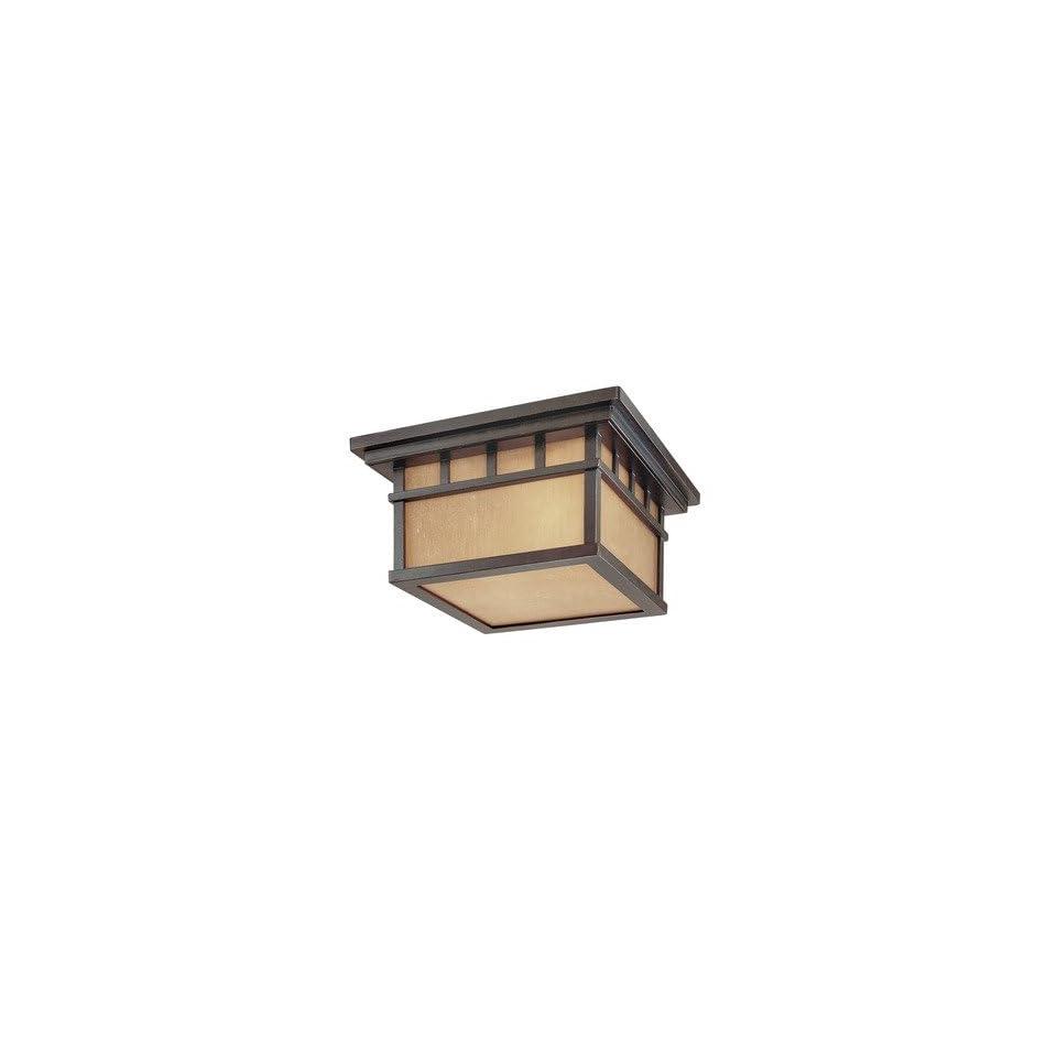 Outdoor Flushmount Ceiling Light Fixture
