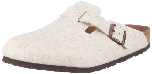 Birkenstock Women's Boston 160571 Beige Slides Sandal 8 UK 41 EU