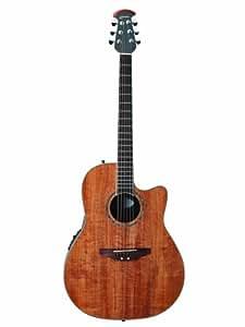 Ovation Celebrity CC24-FKOA Acoustic-Electric Guitar, Figured Koa