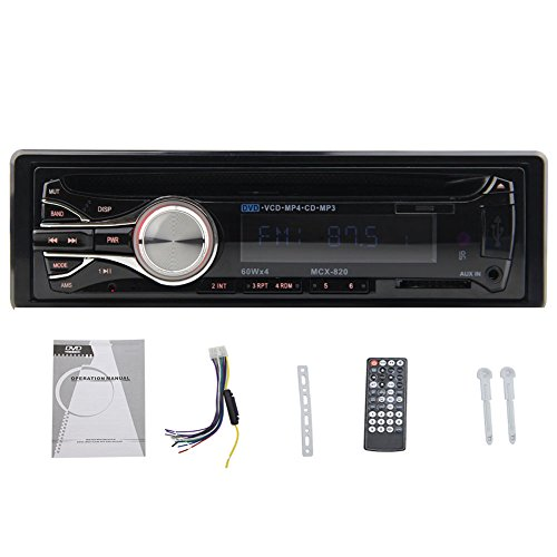 CAR Audio In-Dash Single-Din DVD de voiture Lecteur CD SD / MP3 ršŠcepteur stšŠršŠo voiture streaming avec tšŠlšŠcommande