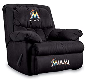 MLB Miami Marlins Home Team Microfiber Recliner by Imperial