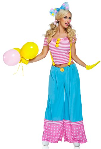 Floppie The Clown - Adult Costume - Large (12-14)
