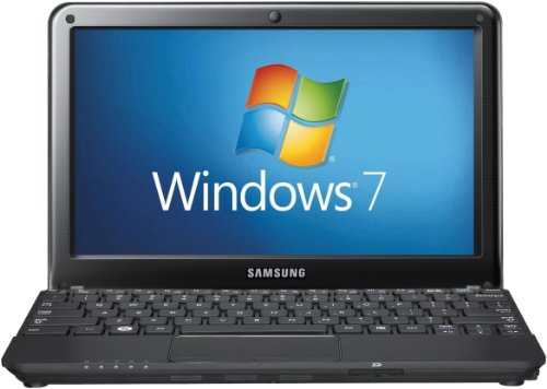 Samsung NC110 10.1 inch netbook (Intel Atom N550 1.5GHz, 1Gb, 250Gb, WLAN, BT, Webcam, Windows 7 Starter) - Black