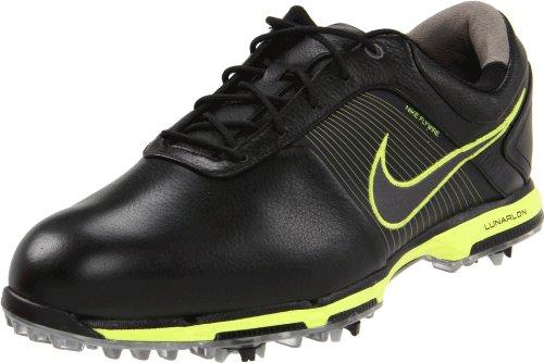 Nike 2012 Mens Lunar Control Golf Shoes - Black / Yellow - 9 uk