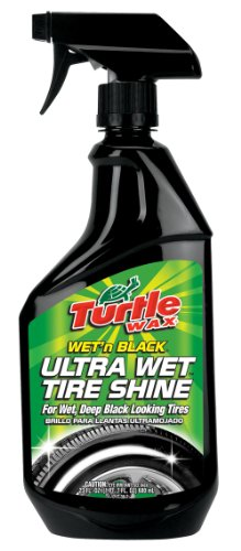 Turtle Wax T-217RA Wet'n Black Ultra Wet Tire Shine – 23 oz.