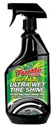 Turtle Wax T-217RA Wet'n Black Ultra Wet Tire Shine – 23 oz.