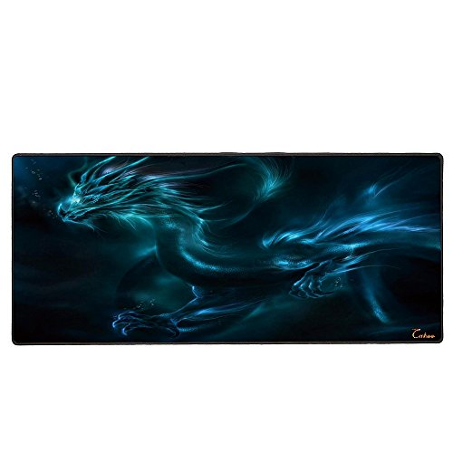 Cmhoo XXL Professional Large Mouse Pad & Computer Game Mouse Mat - 90x40 Dragon