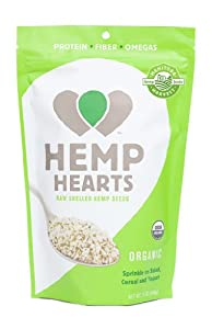 Manitoba Harvest Organic Hemp Hearts Seeds, Shelled, 12 Ounce