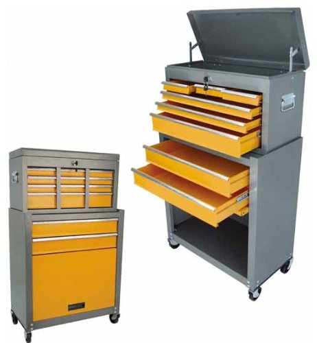 6 Drawer Tool Chest With Roller Cabinet