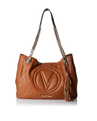 Valentino Bags by Mario Valentino Women's Verra Shoulder Bag, Dark Whiskey