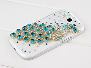 Pandamimi Deluxe Case/Cover for Samsung Galaxy S3 i9300, I747, L710, T999,i535 - AT&T, T Mobile, Sprint, Verizon, U.s.cellular - Clear Blue