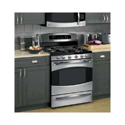 ge oven ge cafe double oven gas range