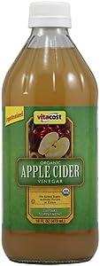 "Vitacost Organic Apple Cider Vinegar with ""Mother"" -- 16 fl oz"