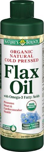 Nature'S Bounty Flaxseed Oil Liquid Organic 8 Oz 8 Fl Oz