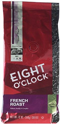 Eight O'Clock Coffee - French Roast ground - 12oz (Pack of 2) (French Roast Eight O Clock compare prices)