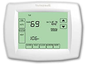 Honeywell TH8321U1006 Visionpro Universal Programmable Thermostat with Armchair Programming