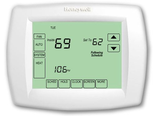 Honeywell TH8320U1008 7day 3/h 2/c Vision PRO 8000 Touchscreen Programmable Thermostat (Honeywell 7 Day Wifi compare prices)