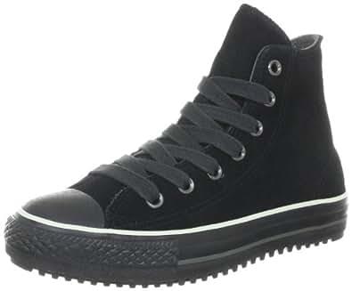 Converse Converse Winterboot Mid Suede Black 1T287, Unisex-Erwachsene Fashion Sneakers, Schwarz (Black), EU 37 (US 4.5)
