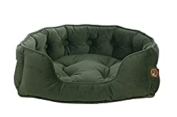 One for Pets Faux Suede Snuggle Pet Bed Soft, Small, Vienna Harbor