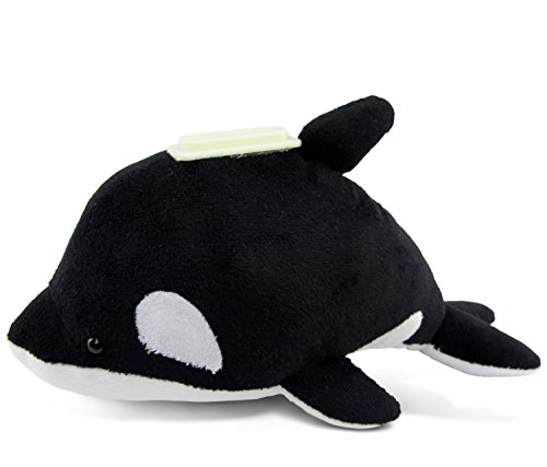 Puzzled Plush Killer Whale Huggie Bank