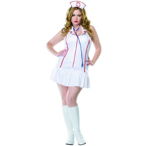 Head Nurse Costume - Plus Size 1X/2X - Dress Size 16-20