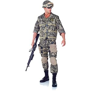 U.S. Army Ranger Deluxe Costume Mens Teen