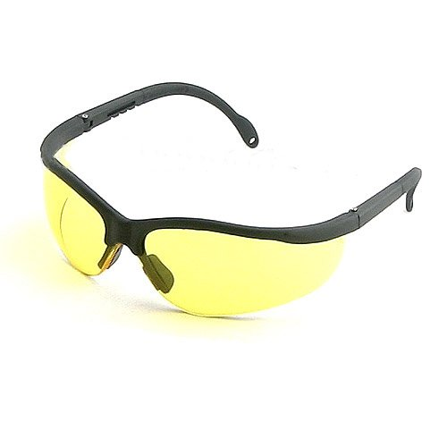 UV Protecting Adjustable Safety Glasses Yellow Tint