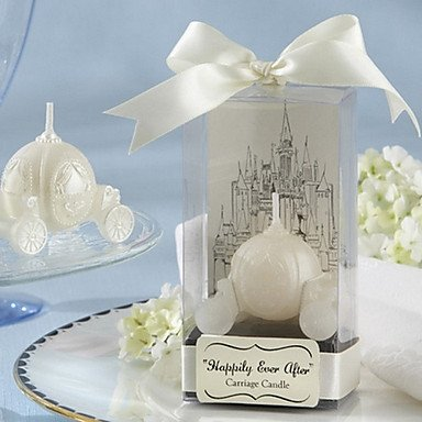 Zclhappily Ever After Carriage Candle