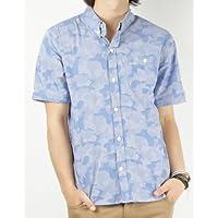 (バレッタ)Valletta 4color 迷彩柄ジャガード半袖シャツ