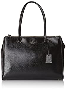 kate spade new york Cedar Street Patent Reena Shoulder Bag,Black,One Size