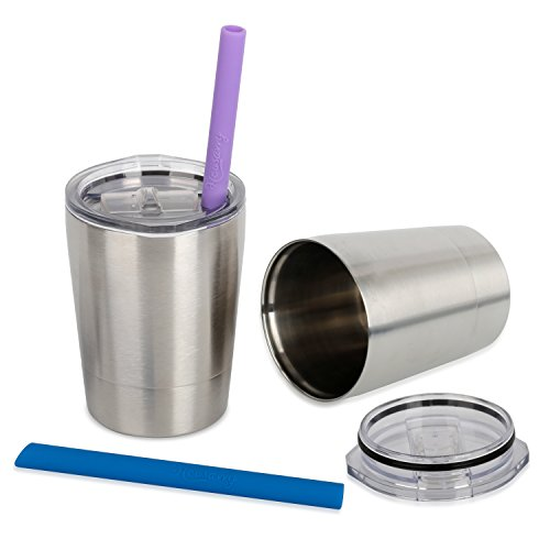 housavvy-stainless-steel-cups-with-lids-and-straws-85-oz-set-of-2