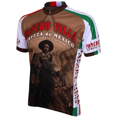 Image of World Jersey's Pancho Villa Short Sleeve Cycling Jersey (B005LRS7AM)