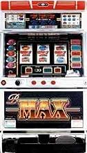 【アルゼ】B-MAX 【中古パチスロ実機/フルセット】家庭用電源OK!