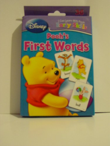 Disney I Can Learn with Pooh Early Skills Pooh's First Words Flash Cards