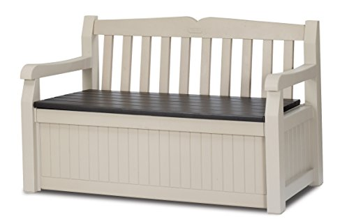 keter-eden-bench-box-storage-container-outdoor-garden-furniture-265-l-beige-and-brown