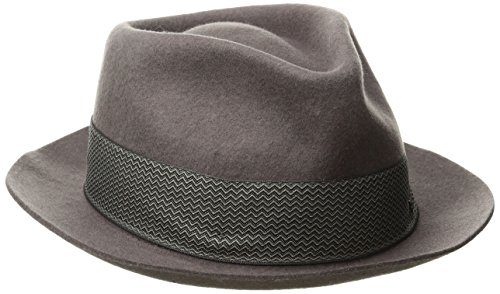Goorin Bros. Men's Griffin Fedora, Gray, Extra Large (Fedora Hats Extra Large compare prices)