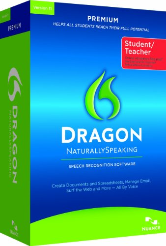 Dragon NaturallySpeaking 11 Premium Edition, Educational License, Online Validation Program (PC)