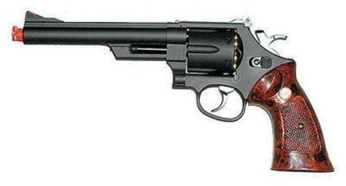 UHC 6-Inch Barrel Gas Powered Non-Blowback Airsoft Revolver