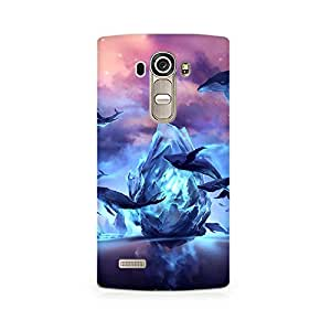 Mobicture Nature Abstract Premium Printed Case For LG G4