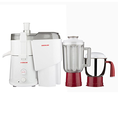 Greenline Commercial 2 Jar Juicer Mixer Grinder with 750 Watts